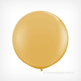 Balloon  3ft - 90cm Latex - Pearl Gold