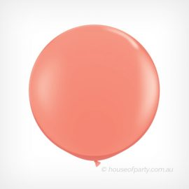 Balloon  3ft- 90cm Latex Coral