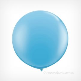 Balloon  3ft- 90cm Latex - Pale Blue