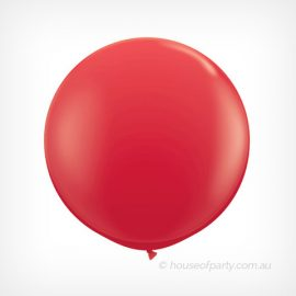 Balloon  3ft- 90cm Latex - Red