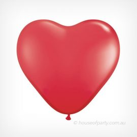 Balloon  3ft- 90cm Latex - Red Heart