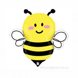 Busy Bumble Bee - Large foil balloon